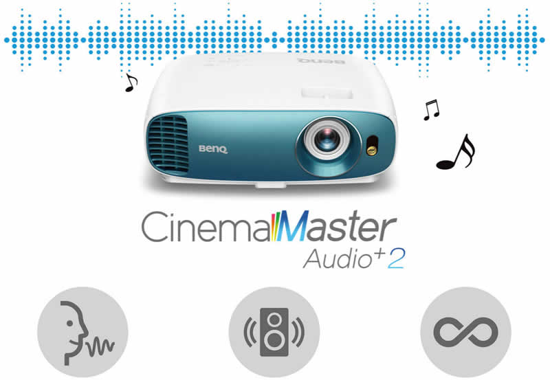 TK800 Cinemaster audio