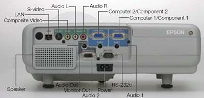 epson emp 410w projector at just projectors. Black Bedroom Furniture Sets. Home Design Ideas