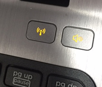 Laptop Wireless button