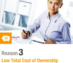 PT-EZ590E tOTAL COST OF OWNERSHIP