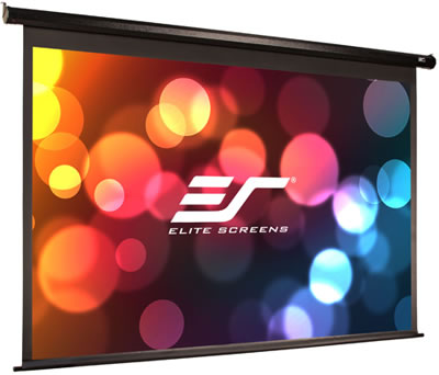 Elite Screens Motorised electric Projector Screen
