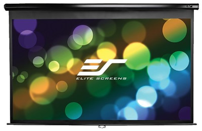 Elite Screens Pull down Screen