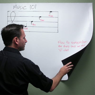 Adhesive Whiteboard Pojector Screen