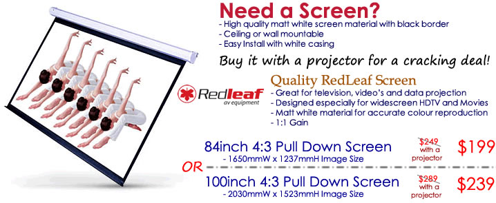 Projector Screen Bundle