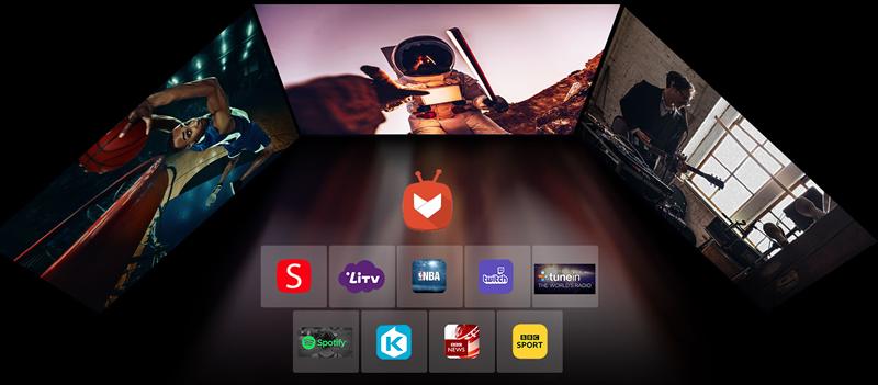 X100-4K Streaming apps